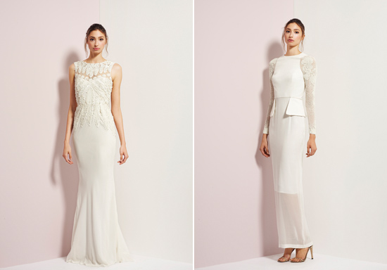 rachel gibert gowns010 Rachel Gilbert Autumn Winter 14 Serenity Collection