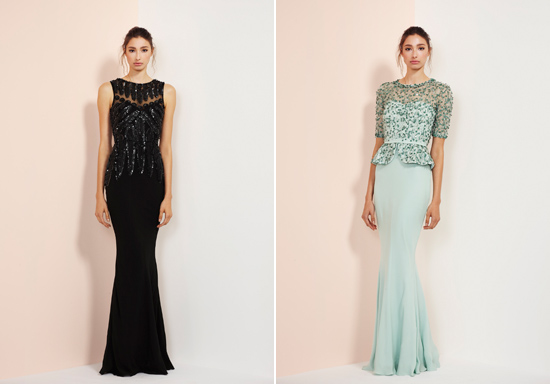 rachel gibert gowns011 Rachel Gilbert Autumn Winter 14 Serenity Collection