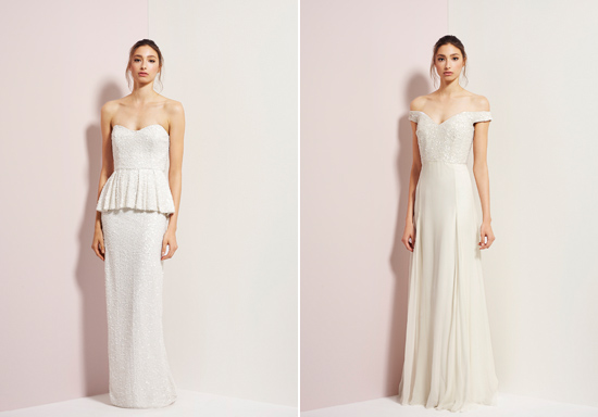 rachel gibert gowns012 Rachel Gilbert Autumn Winter 14 Serenity Collection