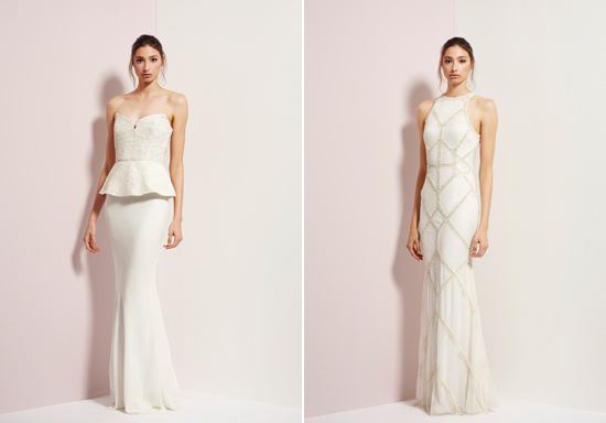 rachel gibert gowns014 Rachel Gilbert Autumn Winter 14 Serenity Collection