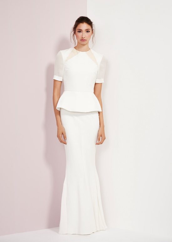 rachel gibert gowns021 Rachel Gilbert Autumn Winter 14 Serenity Collection