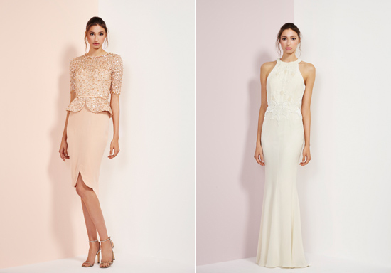 rachel gibert gowns023 Rachel Gilbert Autumn Winter 14 Serenity Collection