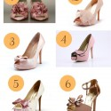 A Touch of Pink Wedding Shoes 125x125 Friday Roundup