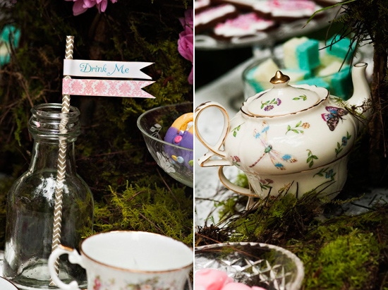 alice in wonderland wedding024 Alice In Wonderland Wedding Inspiration