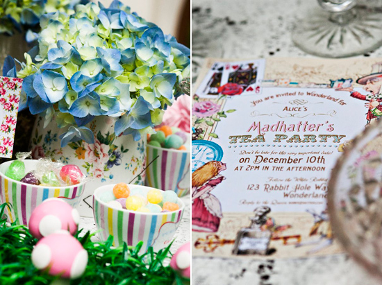 alice in wonderland wedding025 Alice In Wonderland Wedding Inspiration