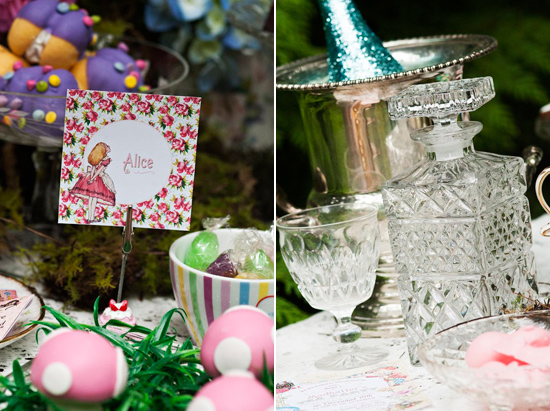 alice in wonderland wedding026 Alice In Wonderland Wedding Inspiration
