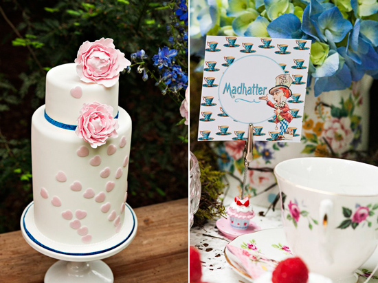 alice in wonderland wedding027 Alice In Wonderland Wedding Inspiration