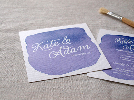 colourful wedding invitations005 Colourful Wedding Invitations From Alannah Rose Stationery