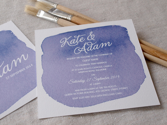 colourful wedding invitations006 Colourful Wedding Invitations From Alannah Rose Stationery