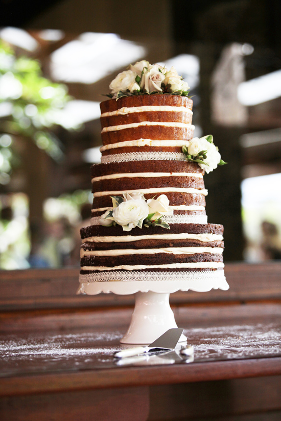 naked wedding cakes001 Naked Wedding Cakes