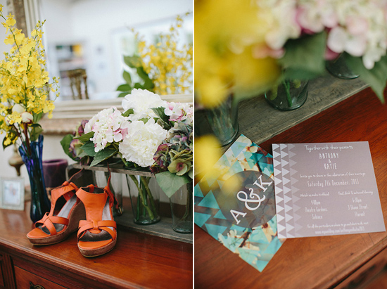 quirky garden wedding005 Kate and Anthonys Quirky Garden Wedding