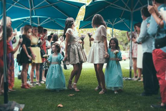 surprise polka dot wedding077 Anthea and Kes Surprise Polka Dot Wedding