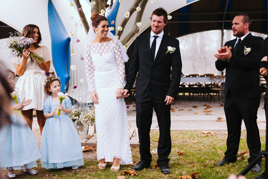 surprise polka dot wedding081 Anthea and Kes Surprise Polka Dot Wedding