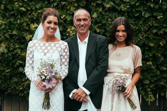 surprise polka dot wedding084 Anthea and Kes Surprise Polka Dot Wedding