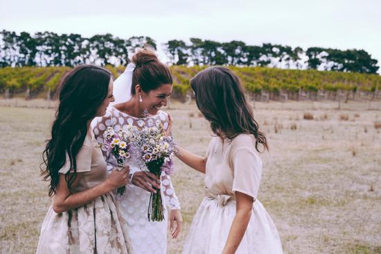surprise polka dot wedding088 Anthea and Kes Surprise Polka Dot Wedding