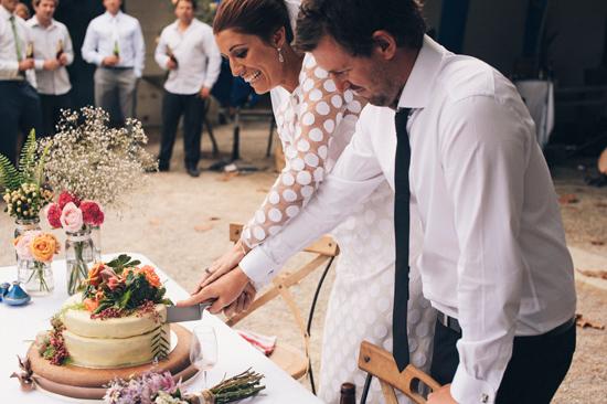 surprise polka dot wedding094 Anthea and Kes Surprise Polka Dot Wedding