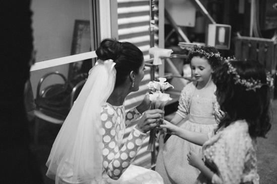 surprise polka dot wedding101 Anthea and Kes Surprise Polka Dot Wedding