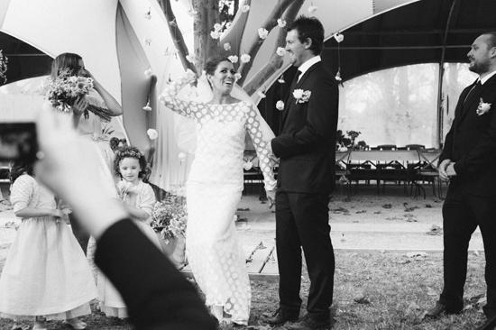 surprise polka dot wedding108 Anthea and Kes Surprise Polka Dot Wedding