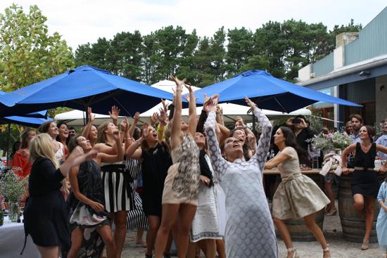 surprise polka dot wedding112 Anthea and Kes Surprise Polka Dot Wedding