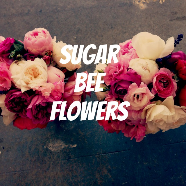Sugar Bee Flowers Bride banner