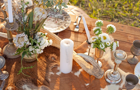 White Bohemian Wedding Ideas010