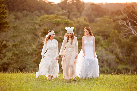 White Bohemian Wedding Ideas026