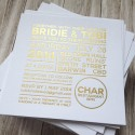 metallic wedding invitations009
