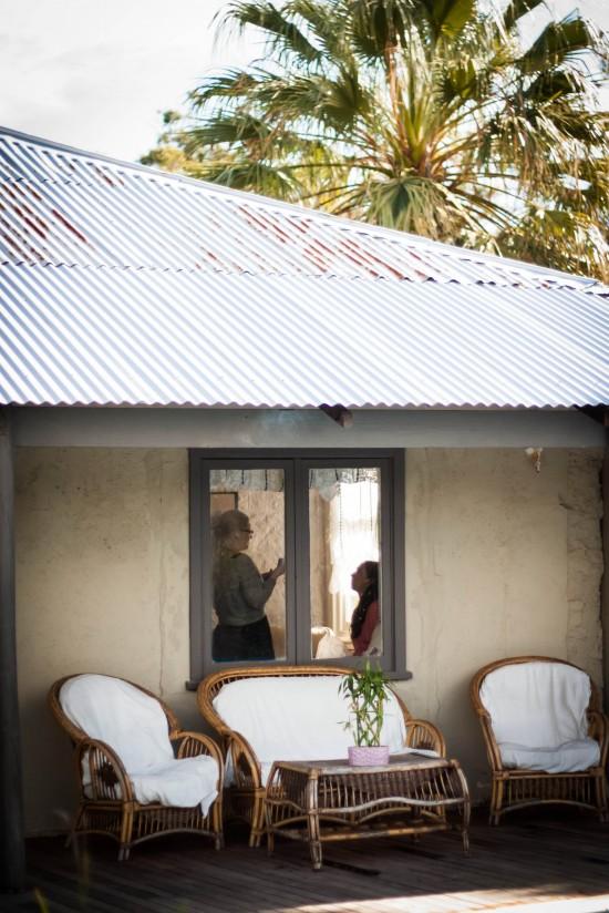 Almora and Leigh 1 550x824 Almora & Leigh's Rustic Winter Wedding