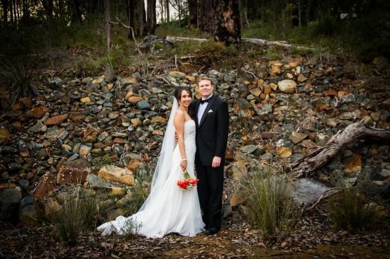 Almora and Leigh 267 550x366 Almora & Leigh's Rustic Winter Wedding