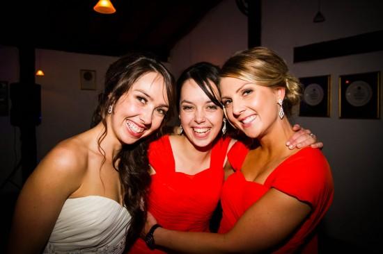Almora and Leigh 355 550x366 Almora & Leigh's Rustic Winter Wedding