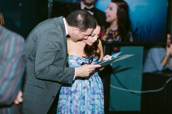 BrennanVanessa EngagementParty 118 550x366 An Enchanting Engagement At The Melbourne Aquarium