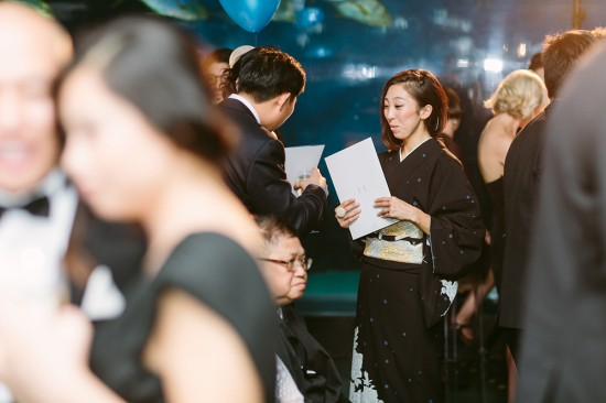 BrennanVanessa EngagementParty 119 550x366 An Enchanting Engagement At The Melbourne Aquarium