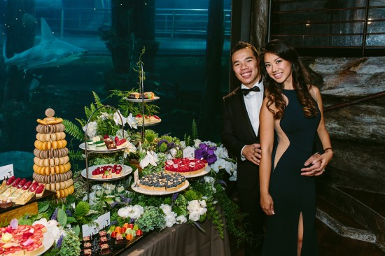 BrennanVanessa EngagementParty 126 550x366 An Enchanting Engagement At The Melbourne Aquarium