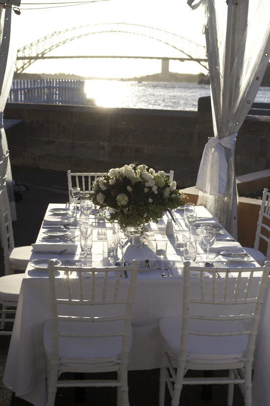 RSPhoto of table showing afternoon sunlght What Would They Know? Liz Taylor of Fort Denison