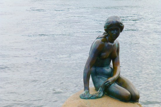 The Little Mermaid Statue 550x366 Honeymoon In Copenhagen Denmark