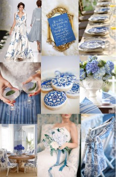 china blue wedding inspiration