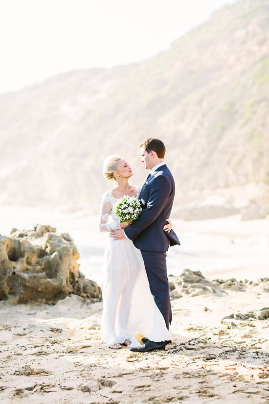 elegant beachside wedding1126