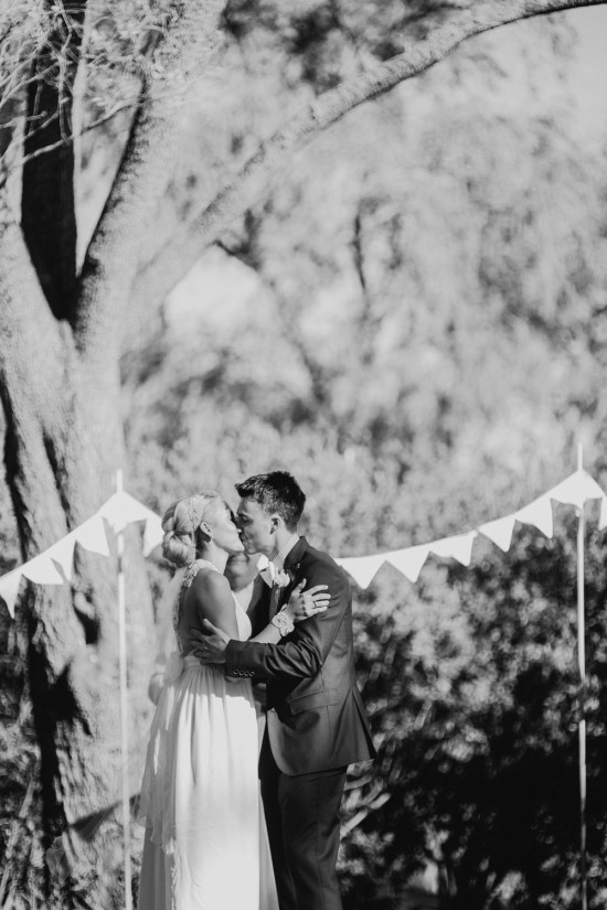 Sharne Arron Married 0475 550x825 Sharne and Arrons Vintage DIY Canberra Wedding