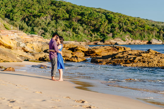 sunset island engagement021