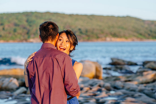sunset island engagement028