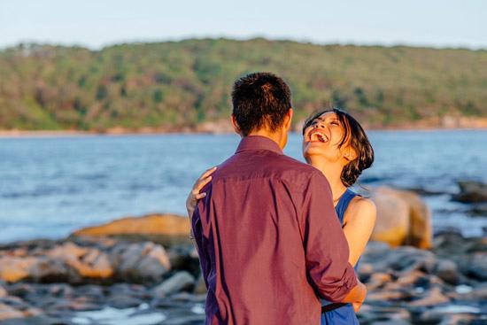sunset island engagement029