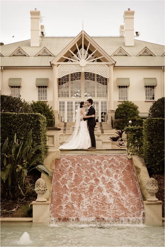 5131 550x824 Josh & Kassis Aqua Blue Wedding In The Glasshouse