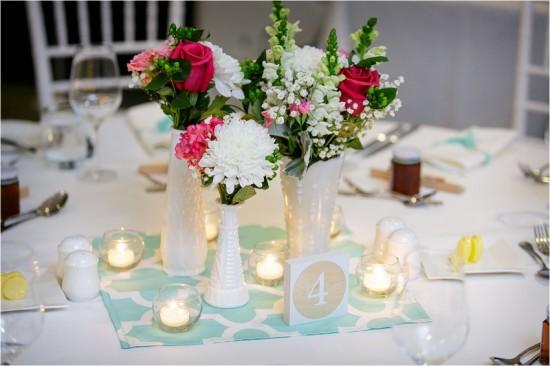 6411 550x366 Josh & Kassis Aqua Blue Wedding In The Glasshouse