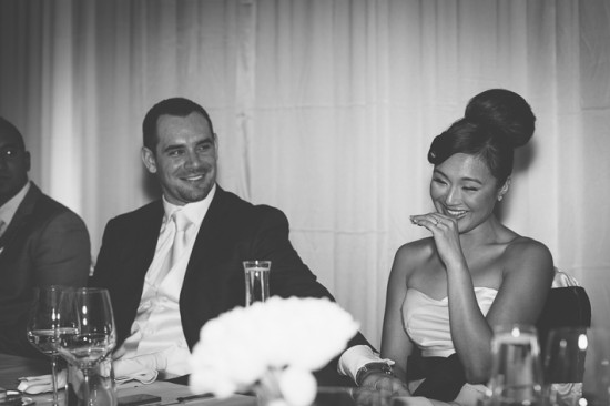 7 Reception LR 037 550x366 Frances and Aarons White and Yellow Winter Wedding