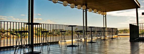 Brisbane Powerhouse Rooftop terrace