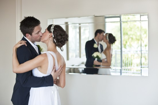 Brooke JessDave1 550x366 Whitsundays Weddings: Peppers Airlie Beach