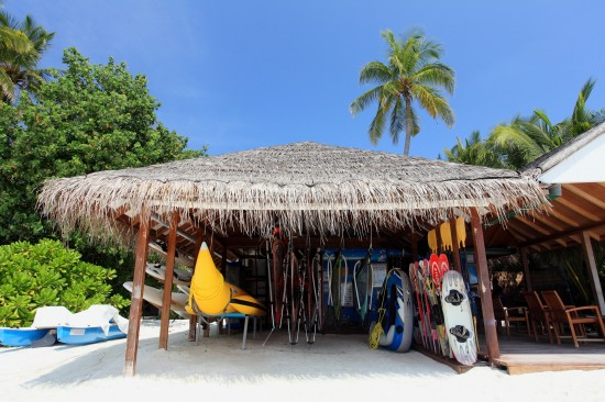 CIRM Water Sports Centre 550x366 A Honeymooners Paradise Centaras Maldives Grand Island Resort