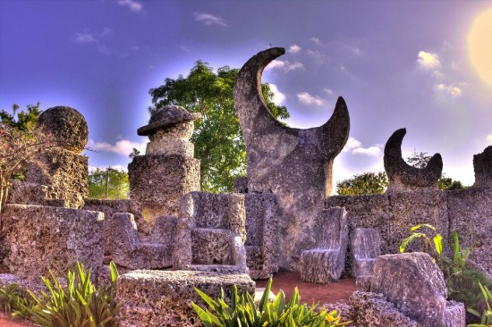 Coral Castle 550x366 Love at New Heights – The Worlds Top 5 Love Monuments