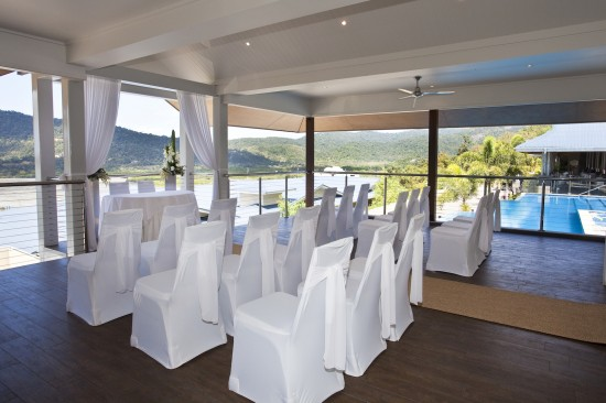 Tides Pavilion 550x366 Whitsundays Weddings: Peppers Airlie Beach