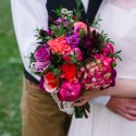 bright winter wedding107
